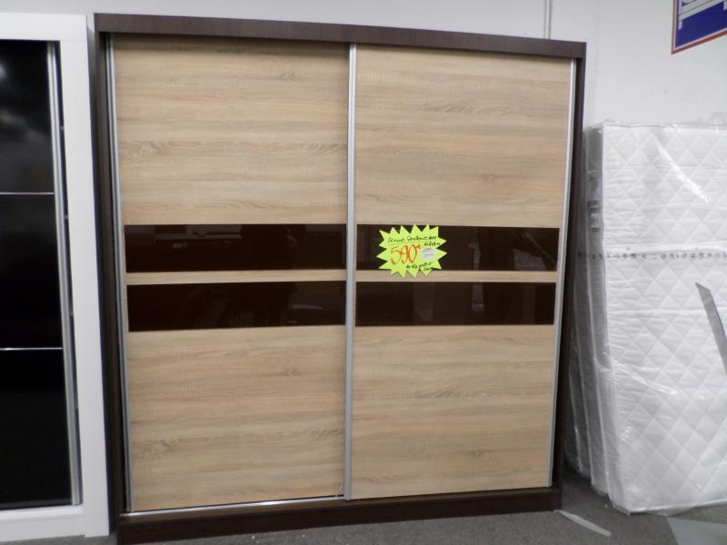 d p t vente troc n cash dressing cambridge porte n6 203x218x61 neuf. Black Bedroom Furniture Sets. Home Design Ideas